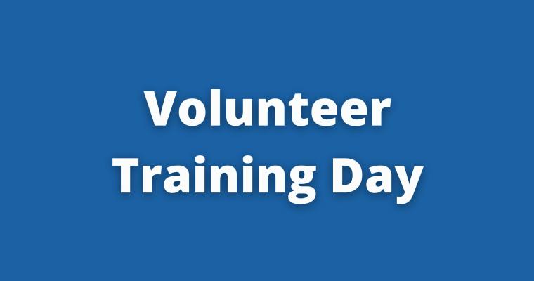 Volunteer Training Day